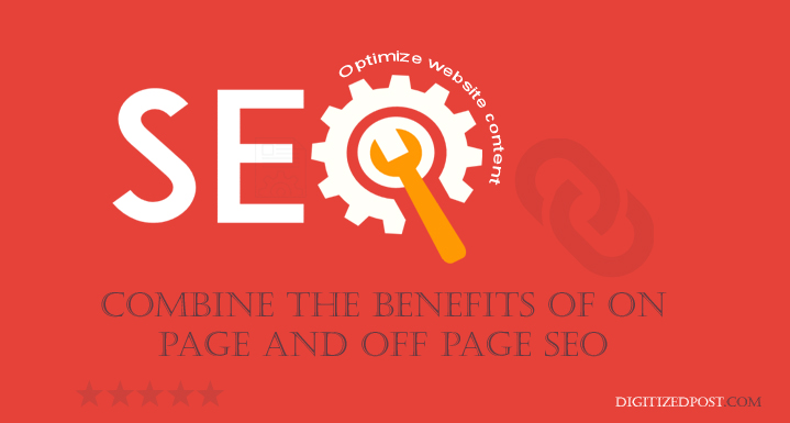 wordpress website seo on page off page optimize content page rank