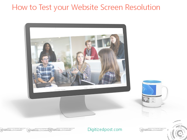 Test Wordpress Website Screen Resolution