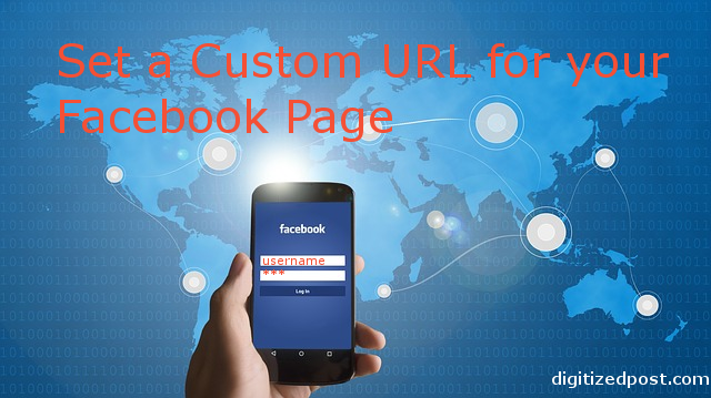 Set Custom URL for Facebook Page