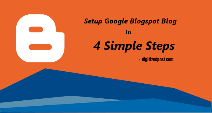 Create Free Blog in Google Blogger Blogspot