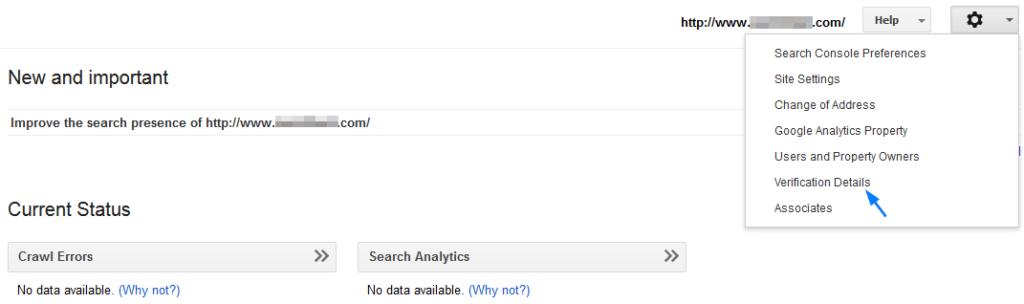 google-search-console-verification-details-digitizedpost