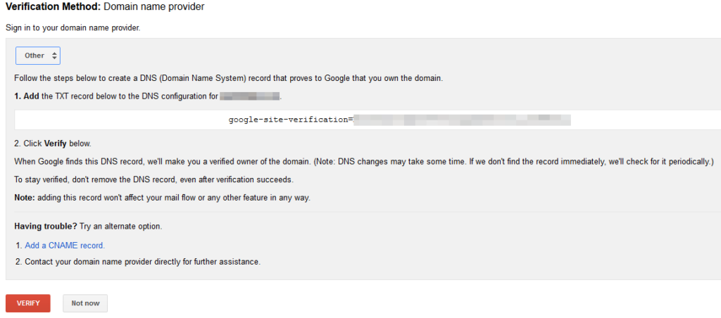 google-search-console-webmastertools-verify-domain-provider